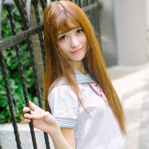 Tukmo 兔几盟 Vol.094 赵乃莹俏皮少女清纯校园制服美眉!