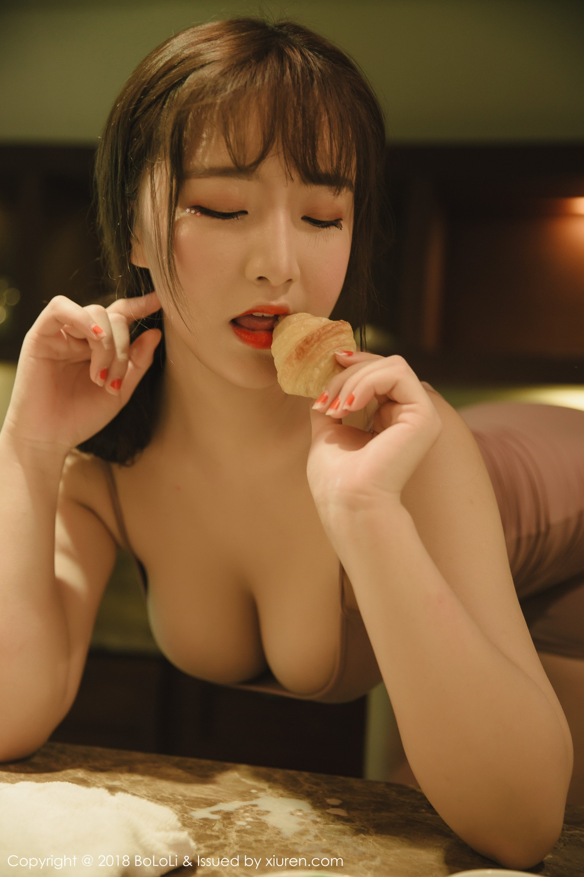 波萝社 [BoLoLi] 2018.04.12 VOL.114 芒果milk