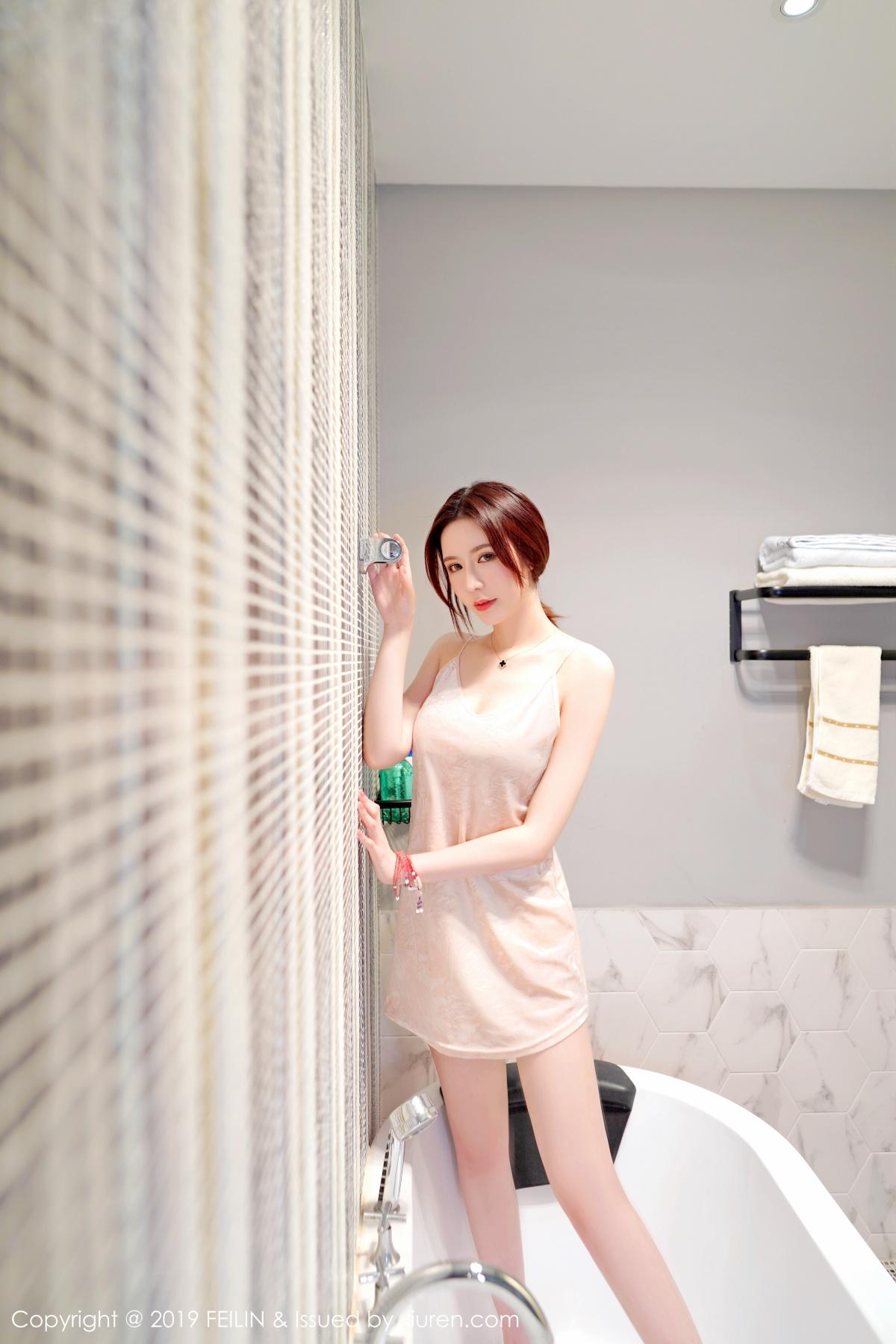嗲囡囡-影像传媒 [FEILIN] 2019.04.22 VOL.189 Misty萌晰