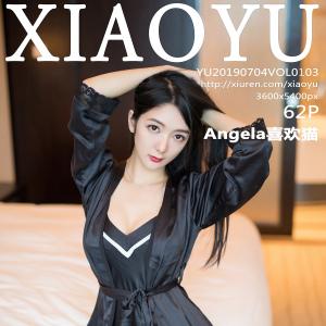 语画界 [XIAOYU] 2019.07.04 VOL.103 Angela喜欢猫