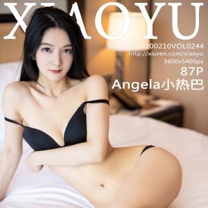 语画界 [XIAOYU] 2020.02.10 VOL.244 Angela小热巴