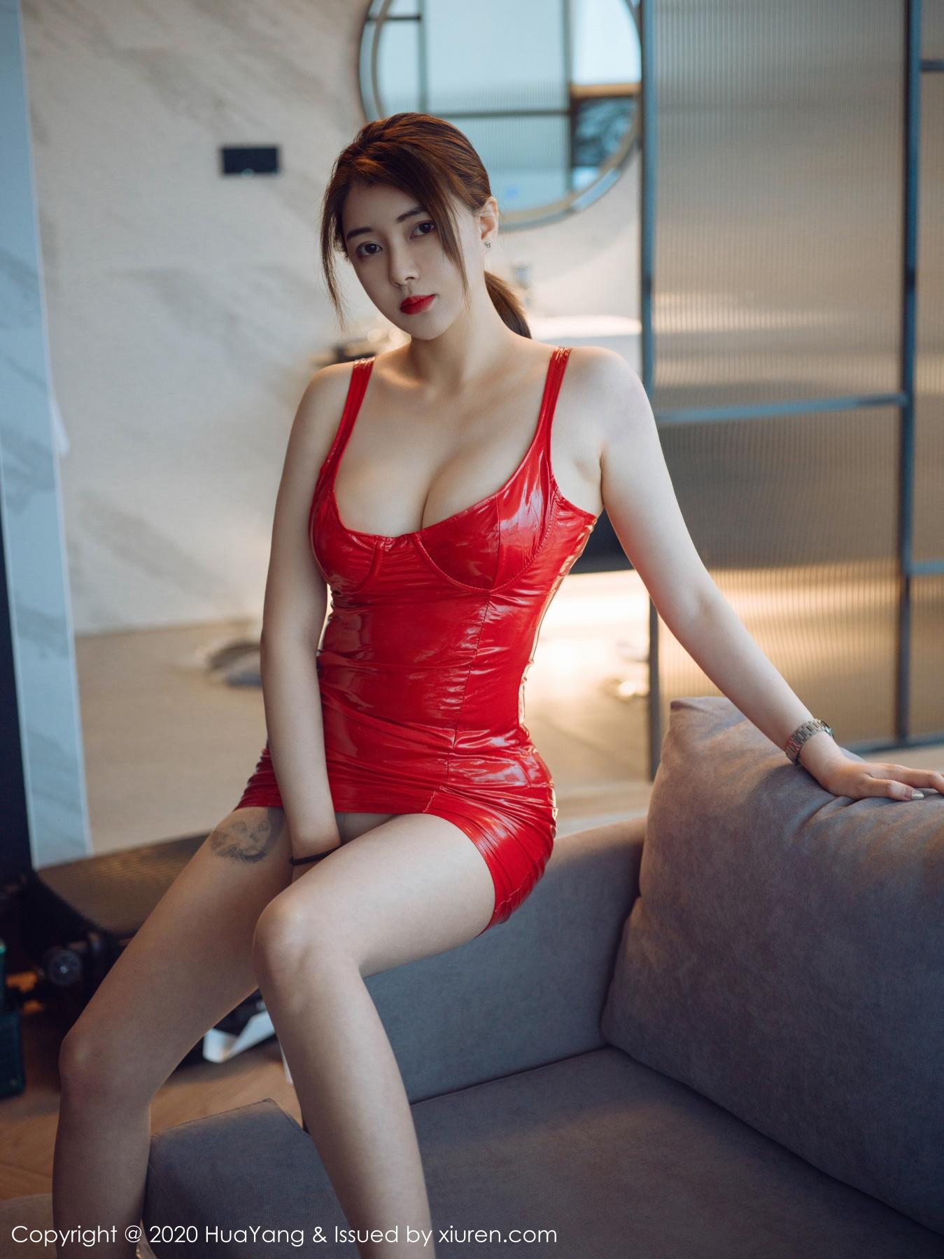 花漾写真 [HuaYang] 2020.12.31 VOL.345 凯竹•廿十