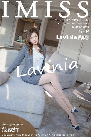 爱蜜社 [IMISS] 2021.01.29 VOL.548 Lavinia肉肉